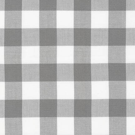 "Carolina Gingham 1"" - Grey"