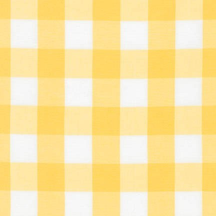 "Carolina Gingham 1"" - Sunflower"