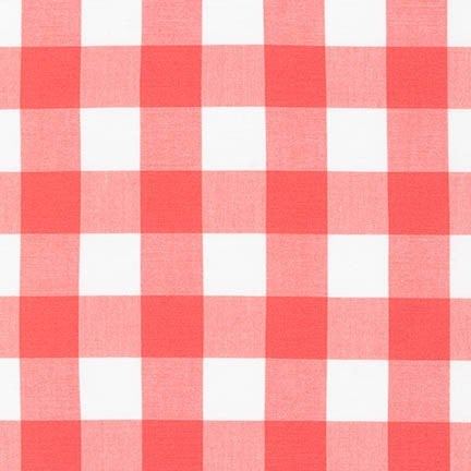 "Carolina Gingham 1"" in Coral"