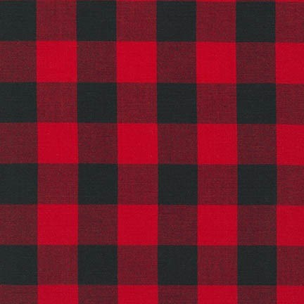 "Carolina Gingham 1"" - Scarlet"