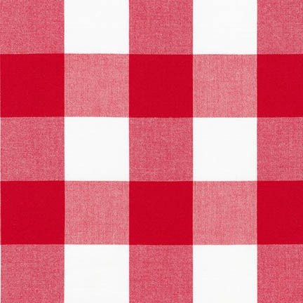 "Carolina Gingham 2"" - Crimson"