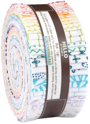 Blueberry Park Low Volume Roll Up by Karen Lewis Textiles