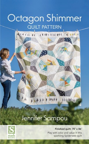 Octagon Shimmer Quilt Pattern by Jennifer Sampou