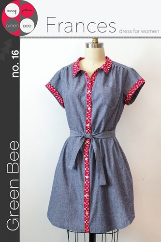 Frances Dress for Women by Green Bee Design