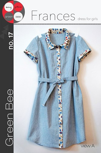 Frances Dress for Girls by Green Bee Design
