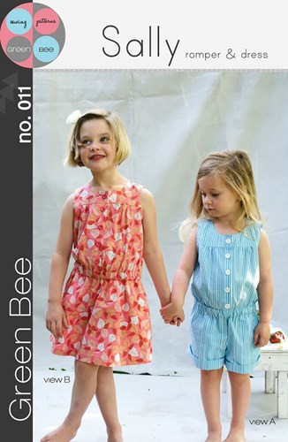 Sally Romper and Dress by Green Bee Design