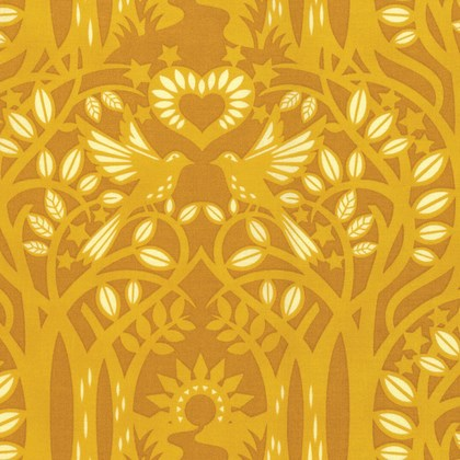 Norwegian Wood in Gold