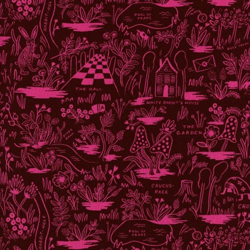 Magic Forest in Ruby RAYON