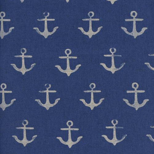 Anchor in Blue CANVAS