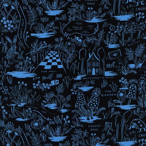 Magic Forest in Blue RAYON