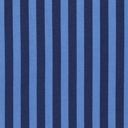 Tent Stripe in Blue Bird