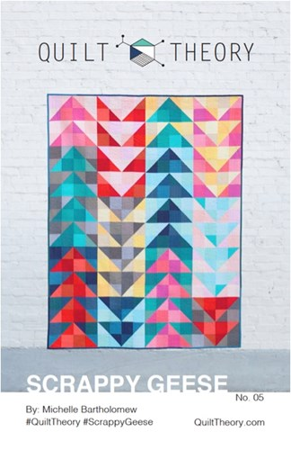 Scrappy Geese Quilt Top Kit