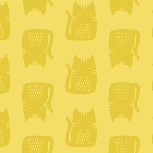 Cats in Yellow