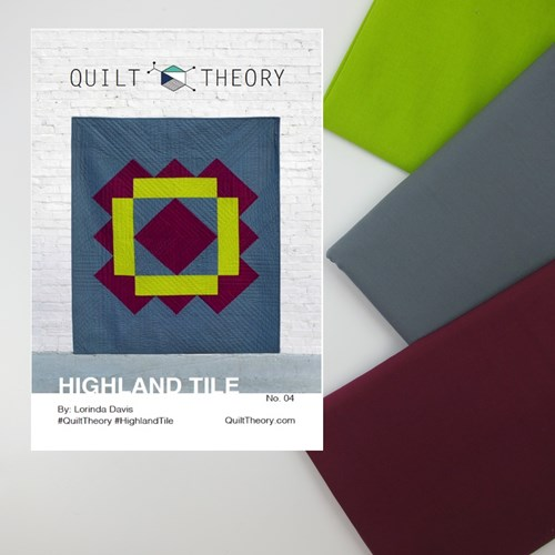 Highland Tile Quilt Top Kit