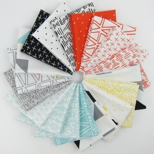 Creative Rockstar Fat Quarter Bundle by Riley Blake