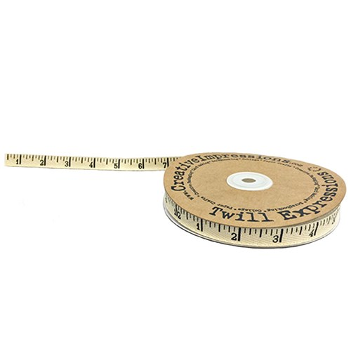 Antique Ruler Twill One Yard