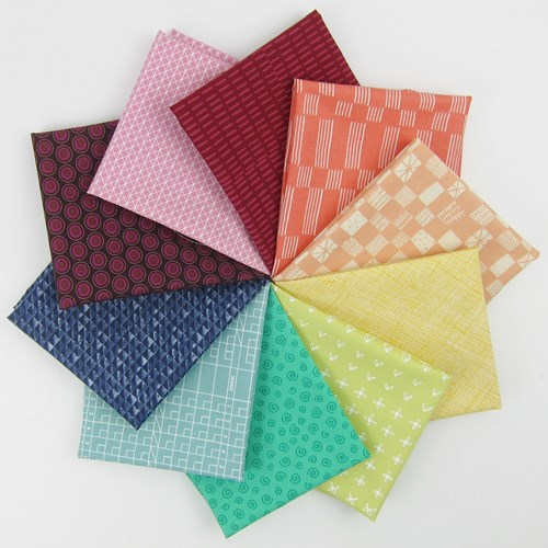 Rainbow Stash Builder Fat Quarter Bundle