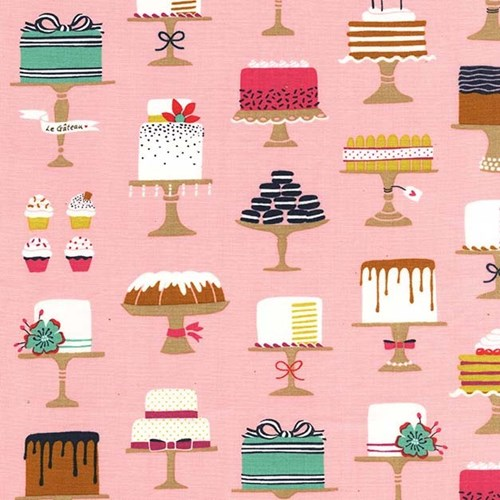 Sweet Cakes in Confection