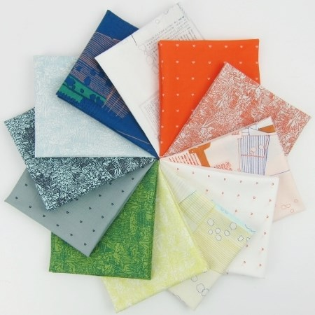 Friedlander LAWN Fat Quarter Bundle by Carolyn Friedlander