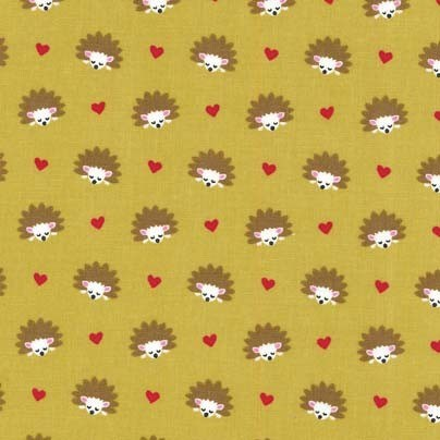 Hedgehog Heaven in Olive