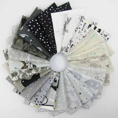 Sleep Tight Fat Quarter Bundle by Sarah Watts for Cotton and Steel