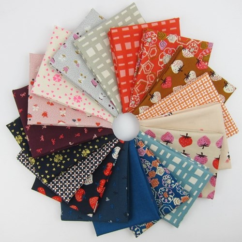 Yours Truly Fat Quarter Bundle by Kim Kight for Cotton and Steel