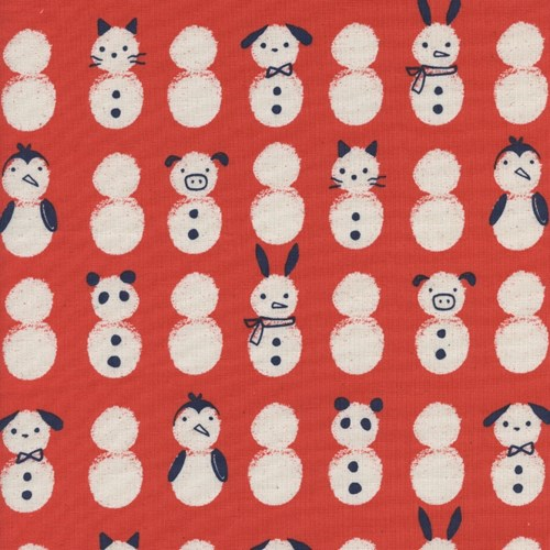Snow Babies in Red