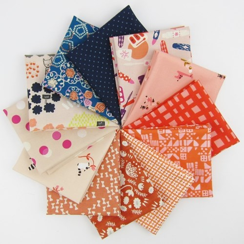 Cotton + Steel February Remix Fat Quarter Bundle