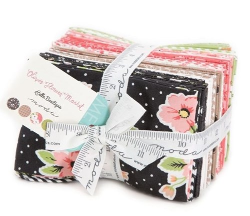 Olive's Flower Market Fat Eighth Bundle by Lella Boutique for Moda Fabrics
