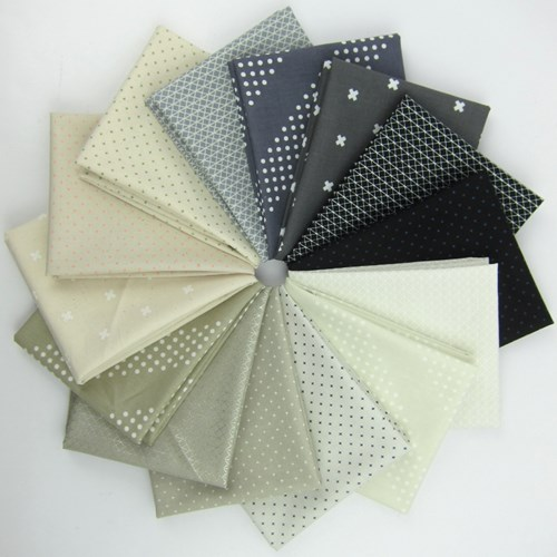 Cotton + Steel Neutral Basics Fat Quarter Bundle