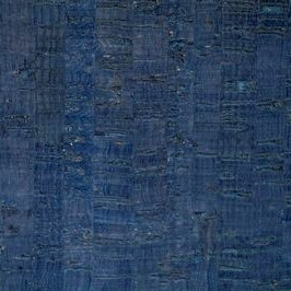 Cork Fabric in Blue