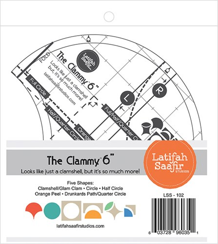 "The Clammy 6"" by Latifah Saafir Studios"