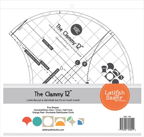"The Clammy 12"" by Latifah Saafir Studios"