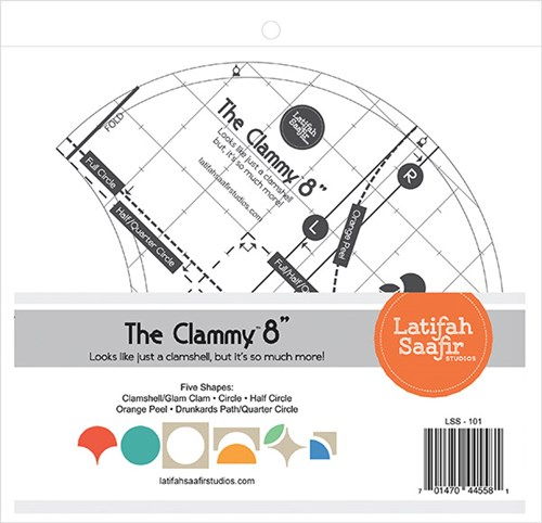 "The Clammy 8"" by Latifah Saafir Studios"