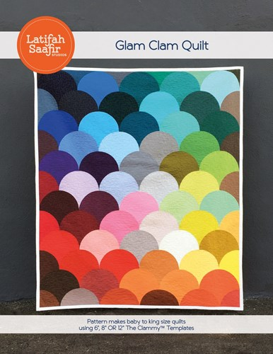 Glam Clam Quilt Pattern by Latifah Saafir Studios