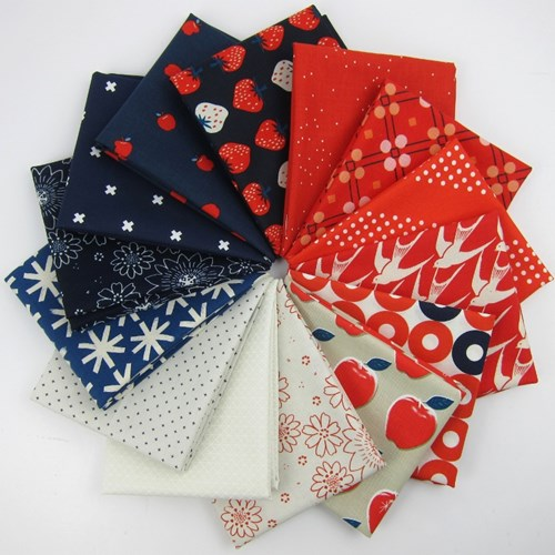 Cotton + Steel Patriotic Remix Fat Quarter Bundle