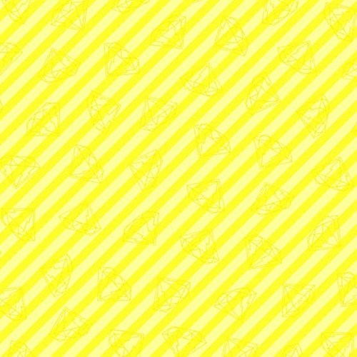 Gem Stripe in Yellow
