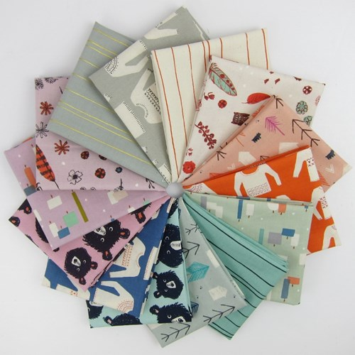 Cozy Fat Quarter Bundle by Cotton and Steel