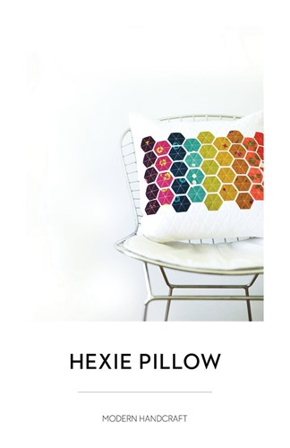 Hexie Pillow Pattern by Nicole Daksiewicz of Modern Handcraft
