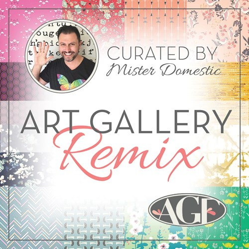 Half Yard Art Gallery Fabrics Remix Club with Mathew of Mister Domestic