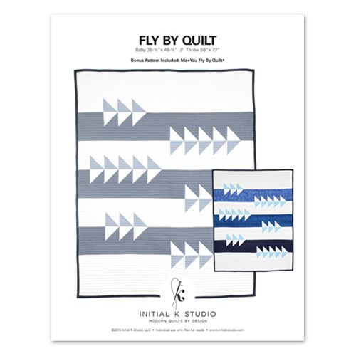 Fly By Quilt Pattern by Initial K Studios