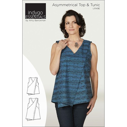 Asymmetrical Top & Tunic Pattern by Indygo Essentials