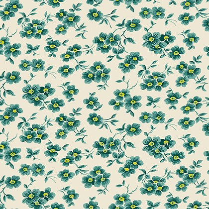 Wallflower in Teal