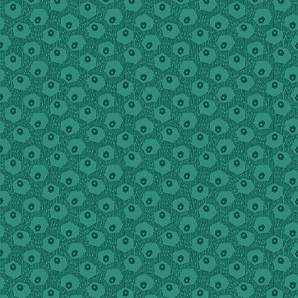 Hex Tex in Teal