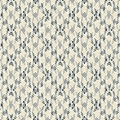 Open Plaid in Linoleum