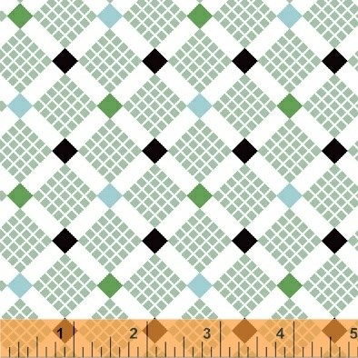 Grid Squares in Green