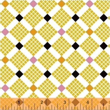 Grid Squares in Yellow