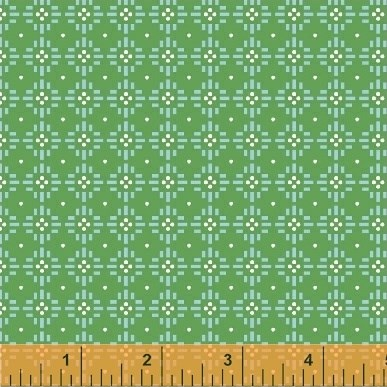 Diamond Dots in Green