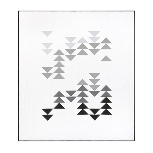Migration Quilt Kit in Gray - Throw Size - Initial K Studio