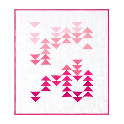 Migration Quilt Kit in Pink - Throw Size - Initial K Studio
